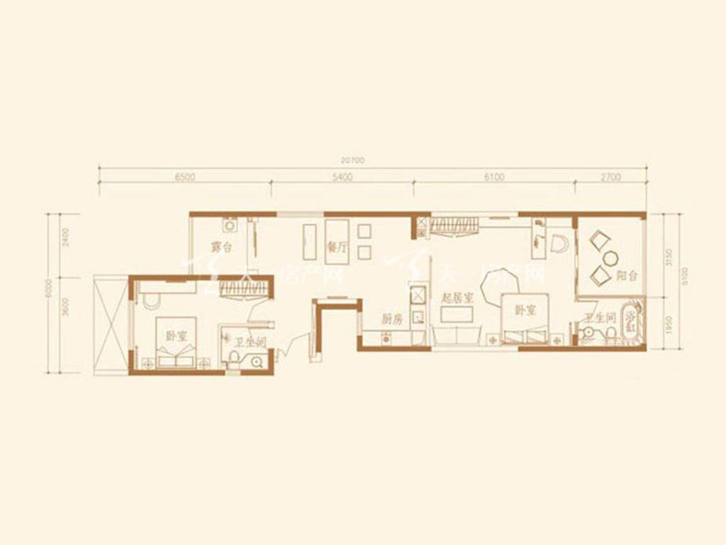 G1S户型2室2厅2卫1厨建筑面积111.68㎡.jpg