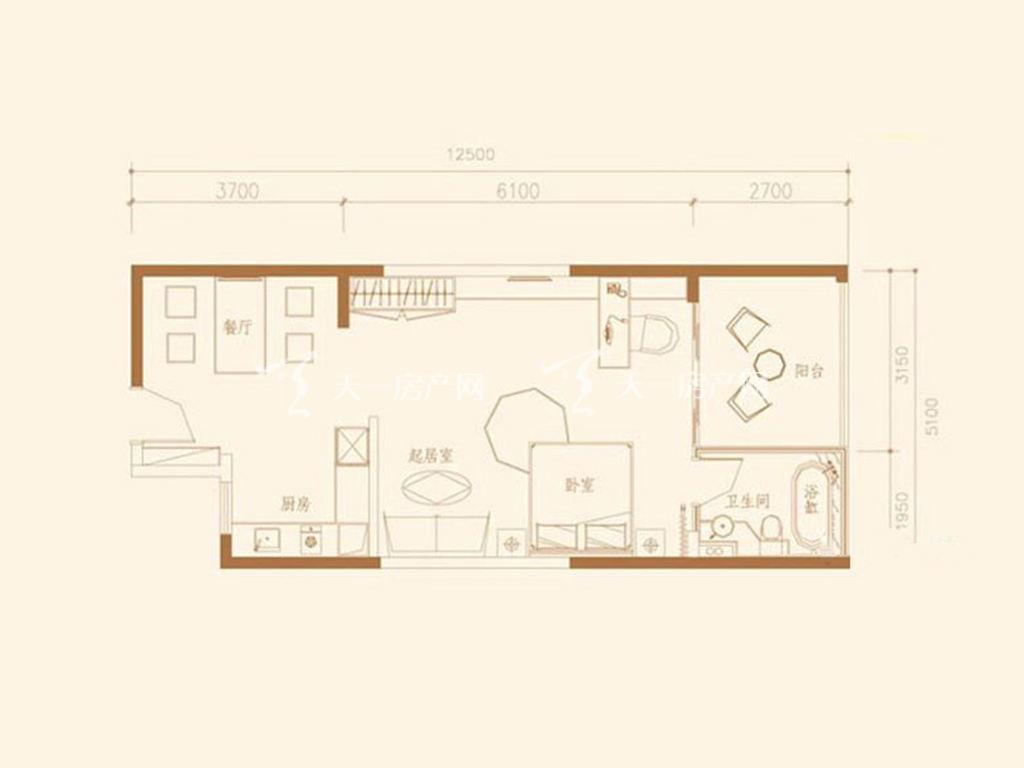G4户型1室1厅1卫1厨建筑面积75.34㎡.jpg