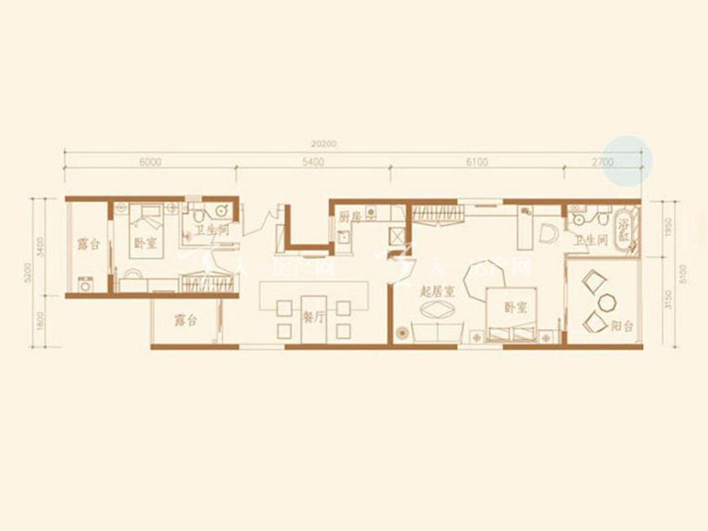 F7S户型2室2厅2卫1厨建筑面积107.06㎡.jpg
