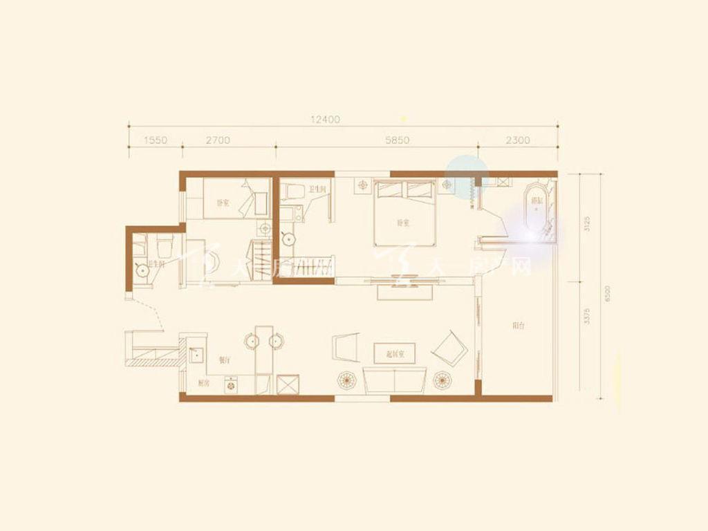 E2户型2室2厅2卫1厨建筑面积93.57㎡.jpg