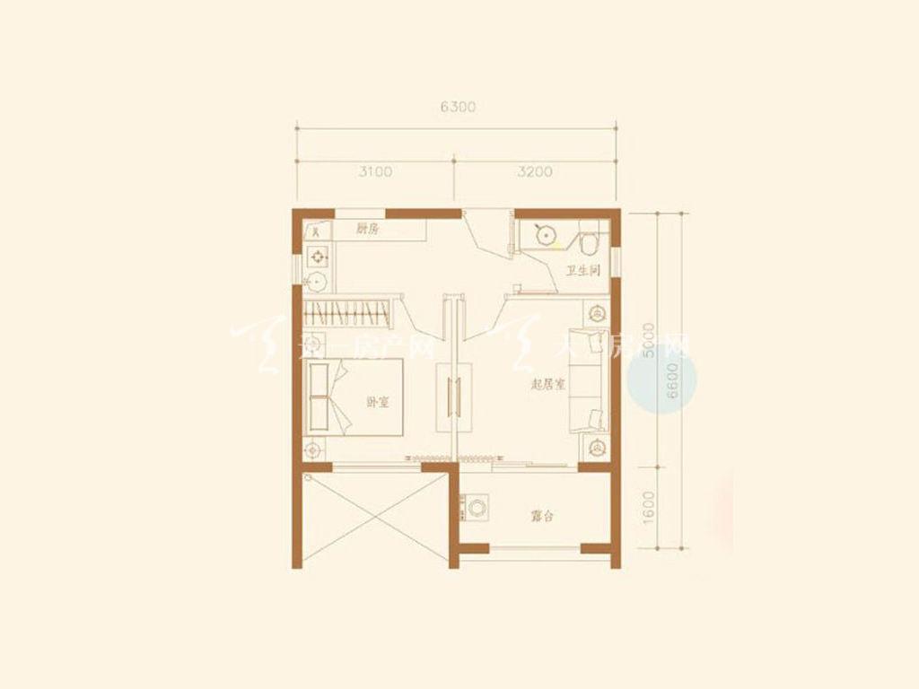 D3S户型1室1厅1卫1厨建筑面积42.26㎡.jpg