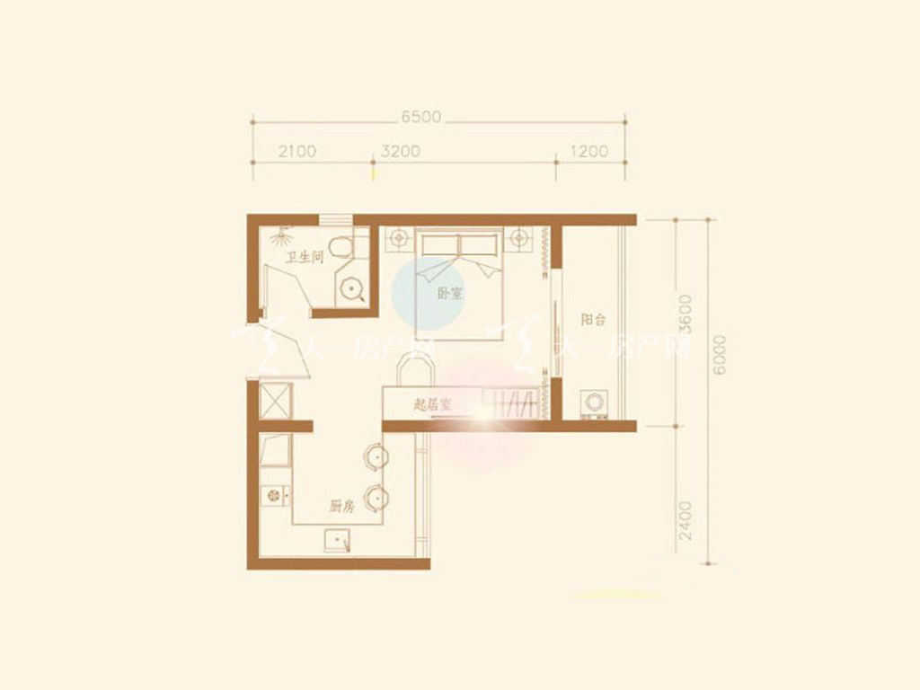 D1户型1室1厅1卫1厨建筑面积37.27㎡.jpg