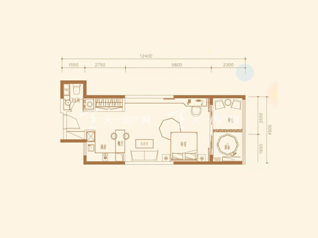 A5户型1室1厅1卫1厨建筑面积65.10㎡.jpg