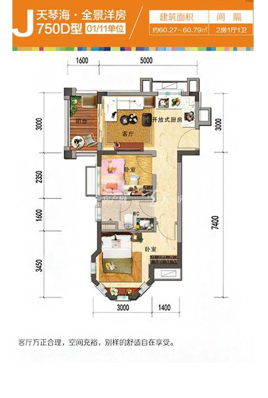 天琴海J750D-2房1廳1廚1衛-60.27㎡.jpg