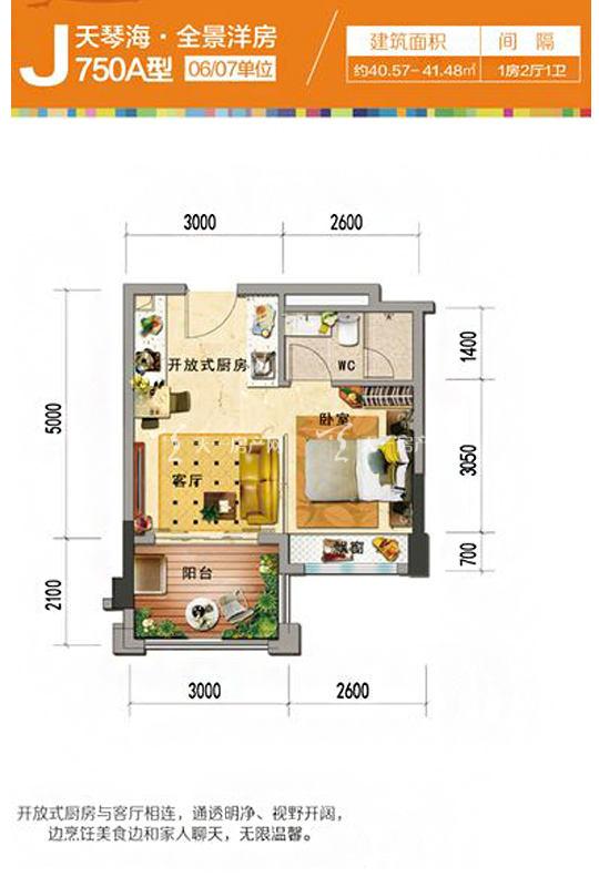 天琴海J750A-1房2廳1廚1衛-40.57㎡.jpg
