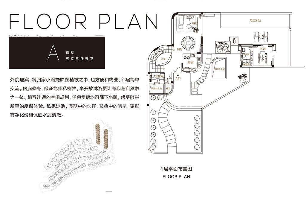 别墅A户型平面1层5室3厅5卫.jpg