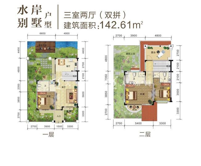 水岸别墅三室两厅(双拼).jpg图片