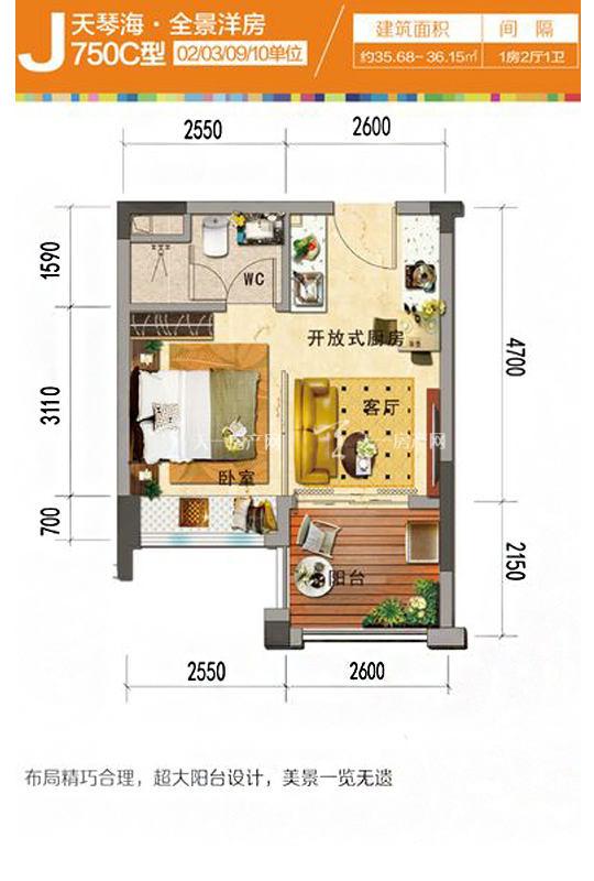 天琴海J750C-1房2廳1廚1衛-35.68㎡.jpg